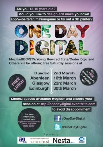 One Day Digital poster