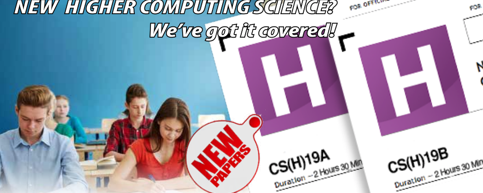 Perfect Papers: NEW Higher Computing Science – ready to order for 2018/19.